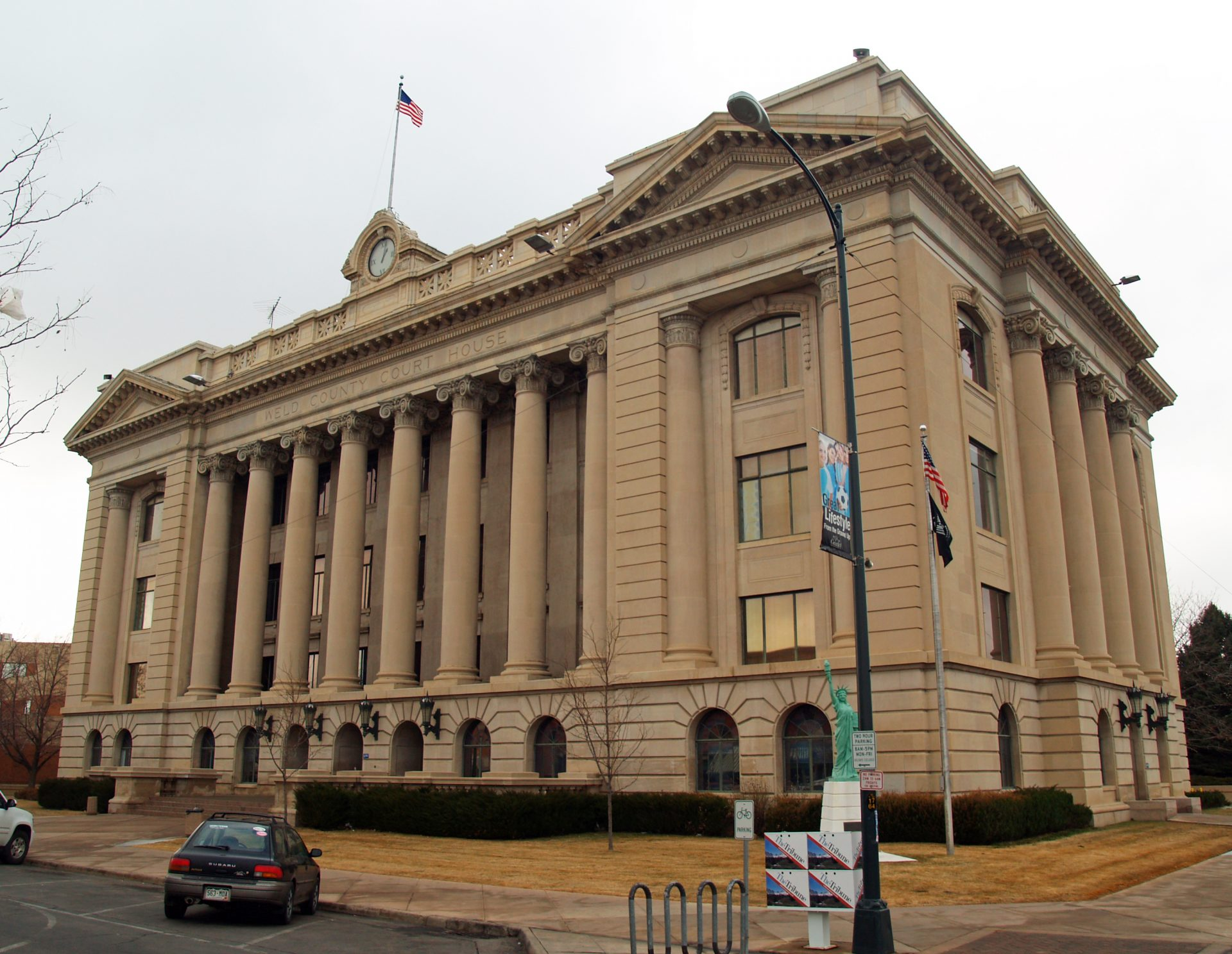 Weld County Court House in Greeley Colorado
